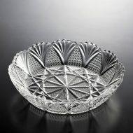 g4010-90-1 φ24.7x5.6レース柄ガラス鉢