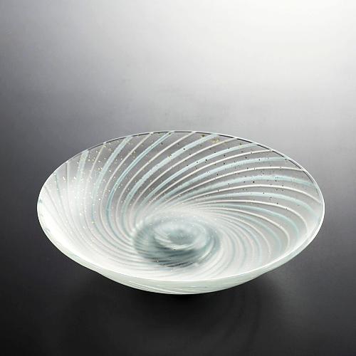 g4024-90-1 φ15.0x4.2金彩渦巻き浅鉢