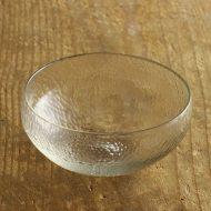 g4034-450-1 φ12.5x5.7鎚目(ツイメ)ガラス鉢 津田清和
