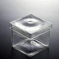 g4035-45-3 7.8x7.8x6.8角ガラスふたつきケース
