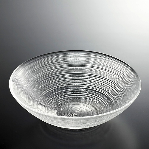 g4049-45-1 φ20.7x6.0よこ筋目ガラス鉢