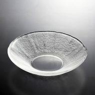 g4051-35-1 φ21.0x4.5でこぼこガラス浅鉢