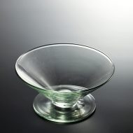 g4076-50-1 φ15.3x7.0うす緑台付ガラスボール