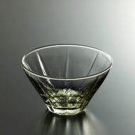 g4080-25-2 φ13.0x7.4薄緑ふかガラスボール