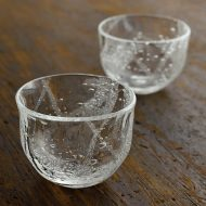 g4094 泡ガラス豆鉢(荒川 尚也)