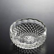 g4111-80-1 φ12.5x5.3格子柄ガラス中鉢