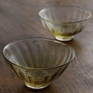 g4120 ストライプガラス深鉢(境田亜希)