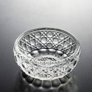 g4125-15-1 φ7.8x3.3格子丸紋ガラス小鉢