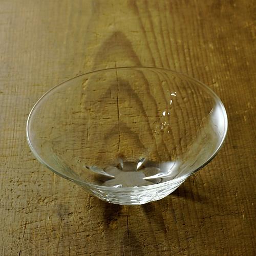 g4151-25-1 φ13.2x5.2そこ花形ガラス鉢