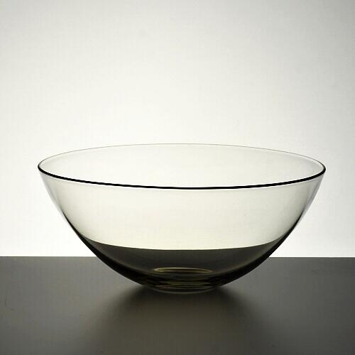 g4158-100-1 φ12.0x5.0手吹き縁赤ラインガラス鉢