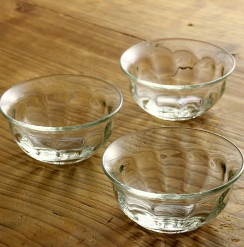 g4182-50-3 φ9.5x4.6花びらガラス鉢 小 (でく工房)