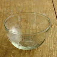 g4191-80-1 φ12.6x7.2ワッフルガラス鉢(てぐ工房)