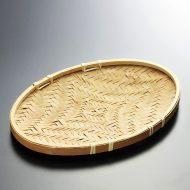 k1006-20-1 20.5×14.5小判竹ざる