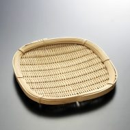 k1008-10-1 17.5×17.5正方盆ざる小