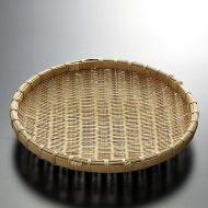 k1017-30-1 φ23.5竹盆ざる中8寸