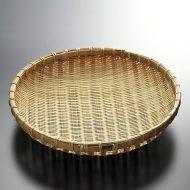 k1021-60-1 φ29.0×5.5竹盆ざる尺