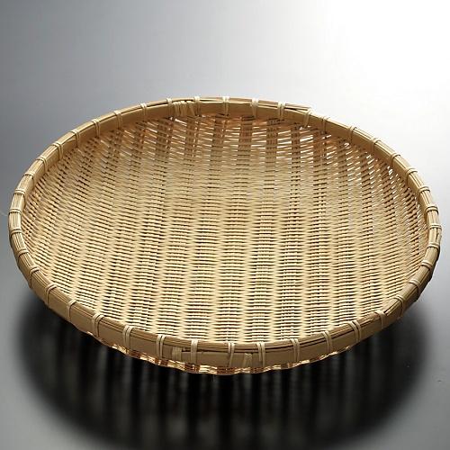k1022-65-1 φ30.5×6.0竹盆ざる特大