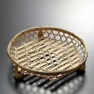k1029-60-1 φ30.0×7.0竹かご足付
