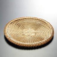 k1046-80-1 φ24.0手編みそばざる8寸