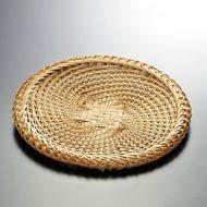 k1047-60-1 φ21.0手編みそばざる7寸