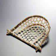 k1079-5-1 18.5×14.0×5.0虎竹亀甲編み手み小