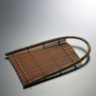 k1092-60-1 25.5×15.0こげ茶竹ひご手み