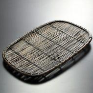 k1097-240-1 46.0×29.0すす竹長盆