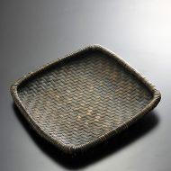 k1119-200-1 34.0×34.0黒竹角ざる