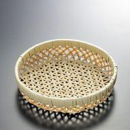 k1131-15-1 φ18.0×4.0竹丸かご縁白巻き
