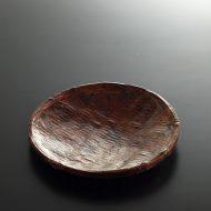 k1134-40-1 φ23.5×3.0一閑張濃茶丸皿
