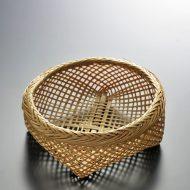k1146-25-1 15.0×14.0×5.5竹丸口細かご