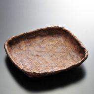 k1157y-20-1 20.0×20.5一閑張茶角皿