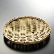 k1162-25-1 φ30.0白ふと竹丸ざる