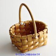 k2005-20-1 14.5×12.7×6.7手つき楕円バスケット小