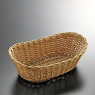 k2055-35-1 27.5×16.0×9.0籐楕円バスケット