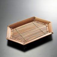 k3014-35-1 34.6×23.2茶竹盆