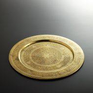 k3045-200-1 φ30.0インド花唐草真鍮皿