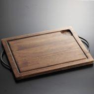 k4003-60-1 51.0×33.0こげ茶両手付きボード