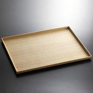 k4098-180-1 39.5×29.0木製長角トレー