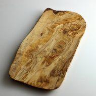 k4512 オリーブの木盛り皿オイル仕上げ