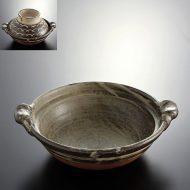 n1023-350-1 31.2×26.7×17.0茶はけ目土鍋