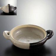 n1024-250-1 34.0×26.0×7.5二色土鍋