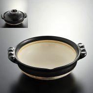 n1025-200-1 30.0×26.0×9.0黒土鍋