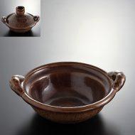n1026-400-1 30.7×26.3×8.7あめ土鍋