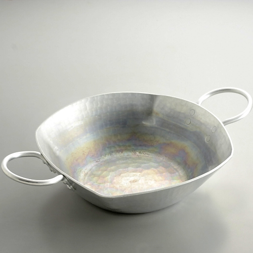 n1121-300-1 36.0x24.5x8.5有次アルミ鍋(持ち手付き)