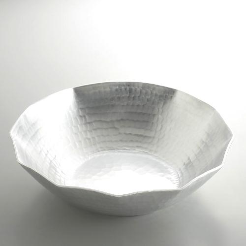 n1122-350-1 φ27.5x7.8有次アルミ打ち出しうどんすき鍋