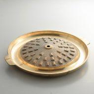 n1129-200-1 φ35.0x4.2韓国焼肉鉄板(縁金色)