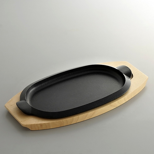 n1133-80-1 32.0x16.2ひとり用楕円ステーキパン