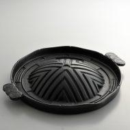 n1135-100-1 33.5x29.0x5.8ジンギスカン鍋 黒
