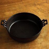 n1145-90-1 23.0x18.0x5.0両手つき一人すき焼きなべ 18cm